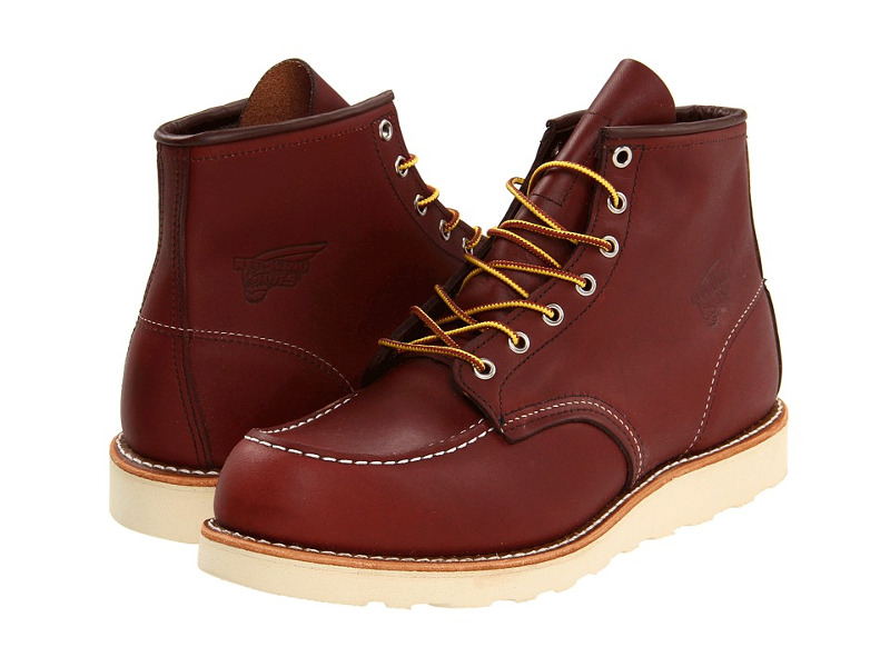 Red Wing Heritage 6 Inch Moc Toe