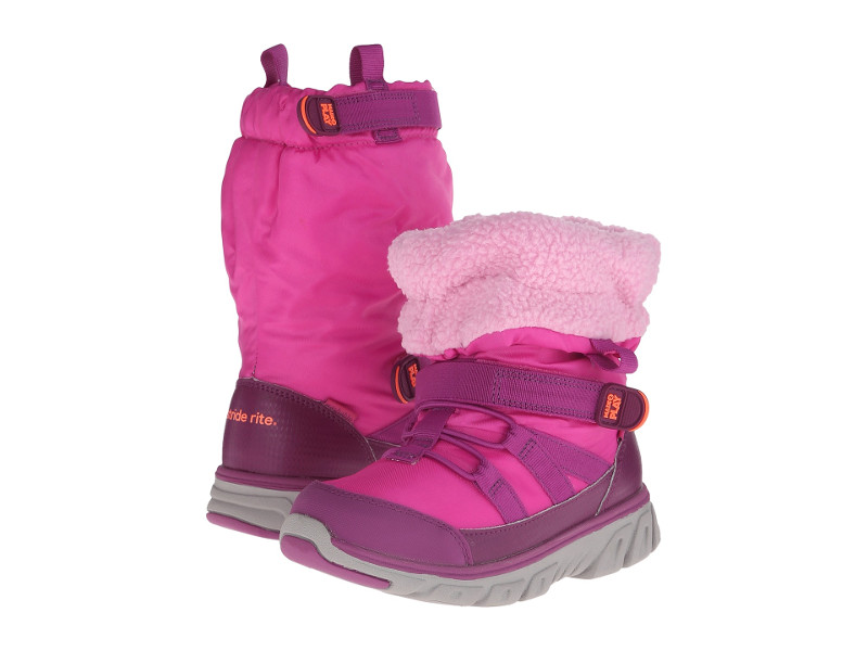 STRIDE RITE GIRLS MADE 2 PLAY SNEAKER BOOTS